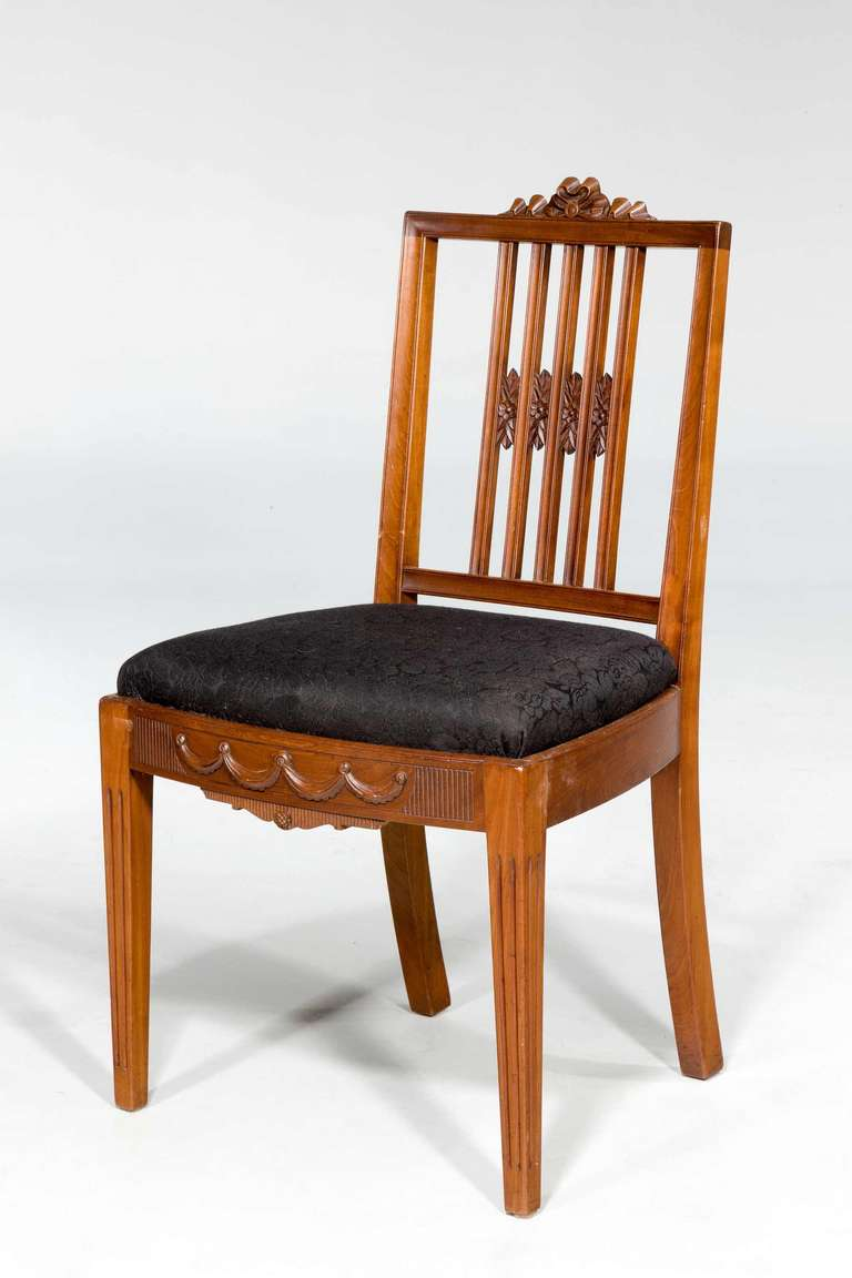 Set of Ten 19th Century Dining Chairs In Good Condition For Sale In Peterborough, Northamptonshire