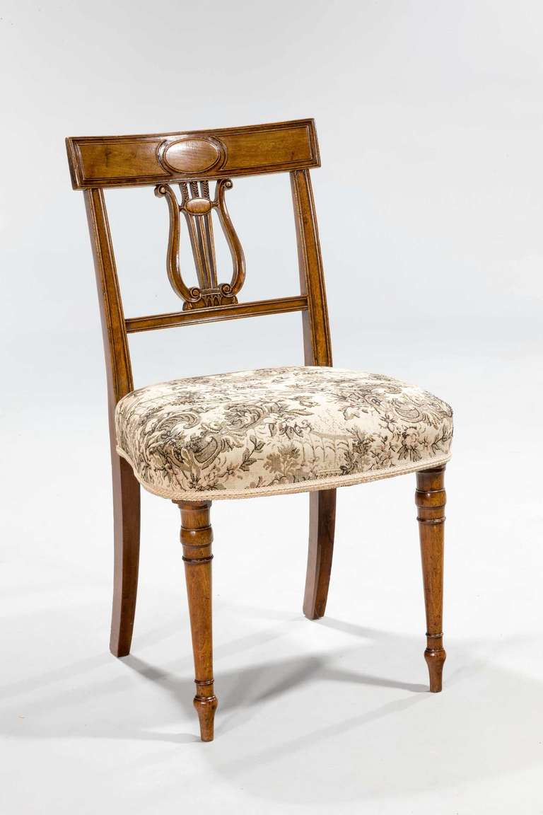 Set of Four George III Period Dining Chairs For Sale at  : 4955Nov12l from www.1stdibs.com size 768 x 1152 jpeg 57kB