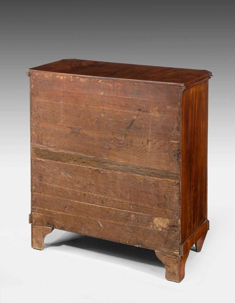 Early 19th Century Mahogany, Miniature Chest of Drawers For Sale 1
