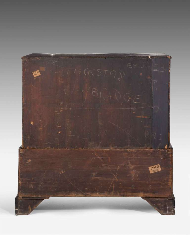 18th Century and Earlier George III Period Mahogany Dwarf Press For Sale