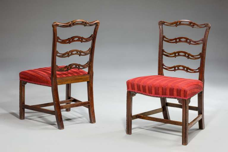 Ladderback chippendale chairs reanimators