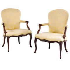 Pair of George III Period Armchairs
