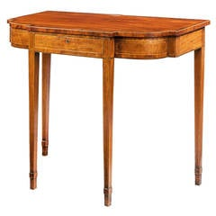George III Period Side Table