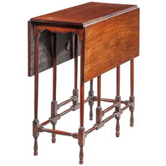 George III Period 'Spider' Table.