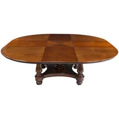 Late Regency Metamorphic Mahogany Dining Table