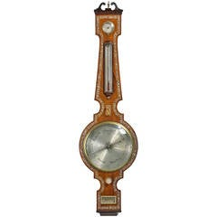 Regency Period Rosewood Barometer