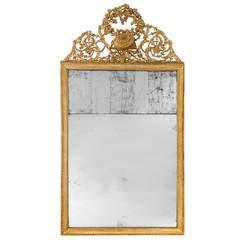 18th Century Giltwood Mirror