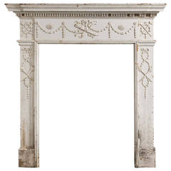 Late 19th Century Small Fire Surround