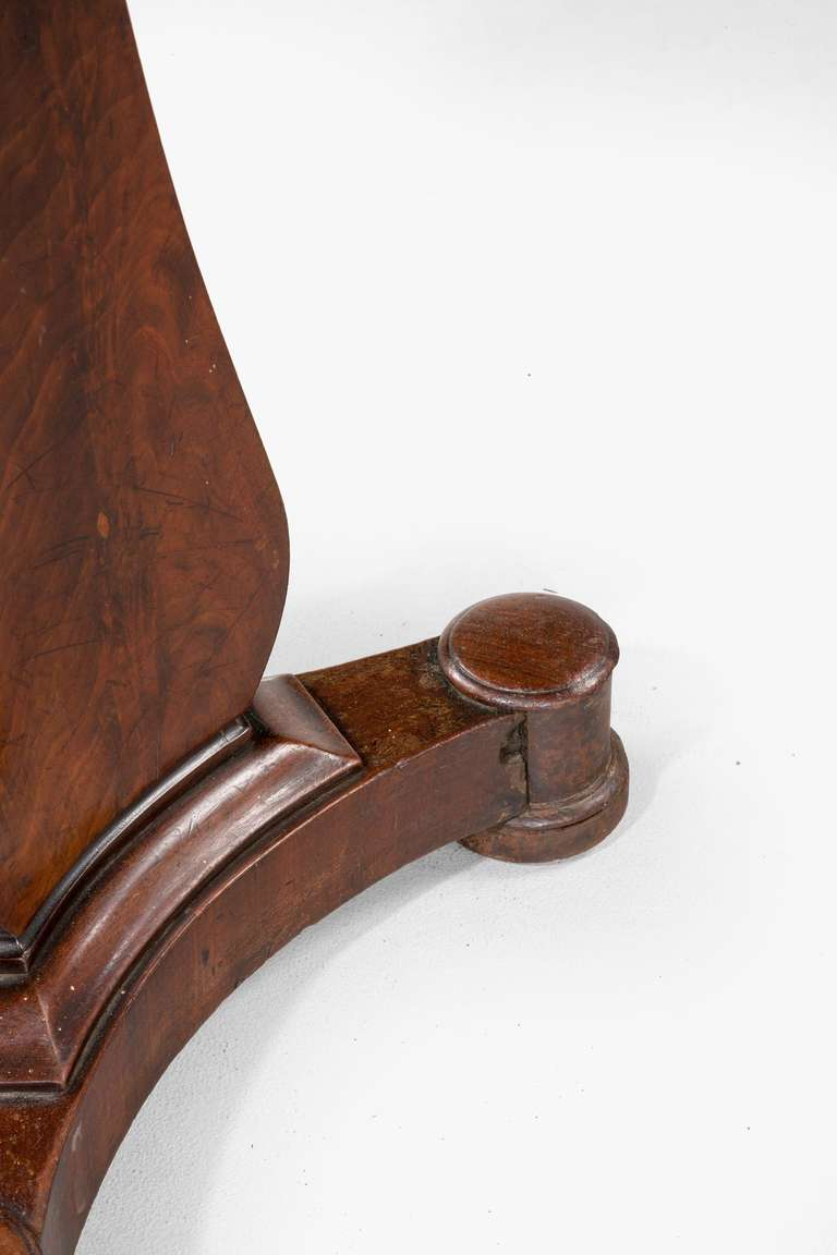Regency Period Mahogany Stool For Sale At 1stdibs