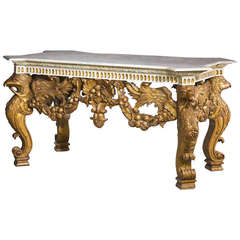 19th Century Giltwood Pier Table