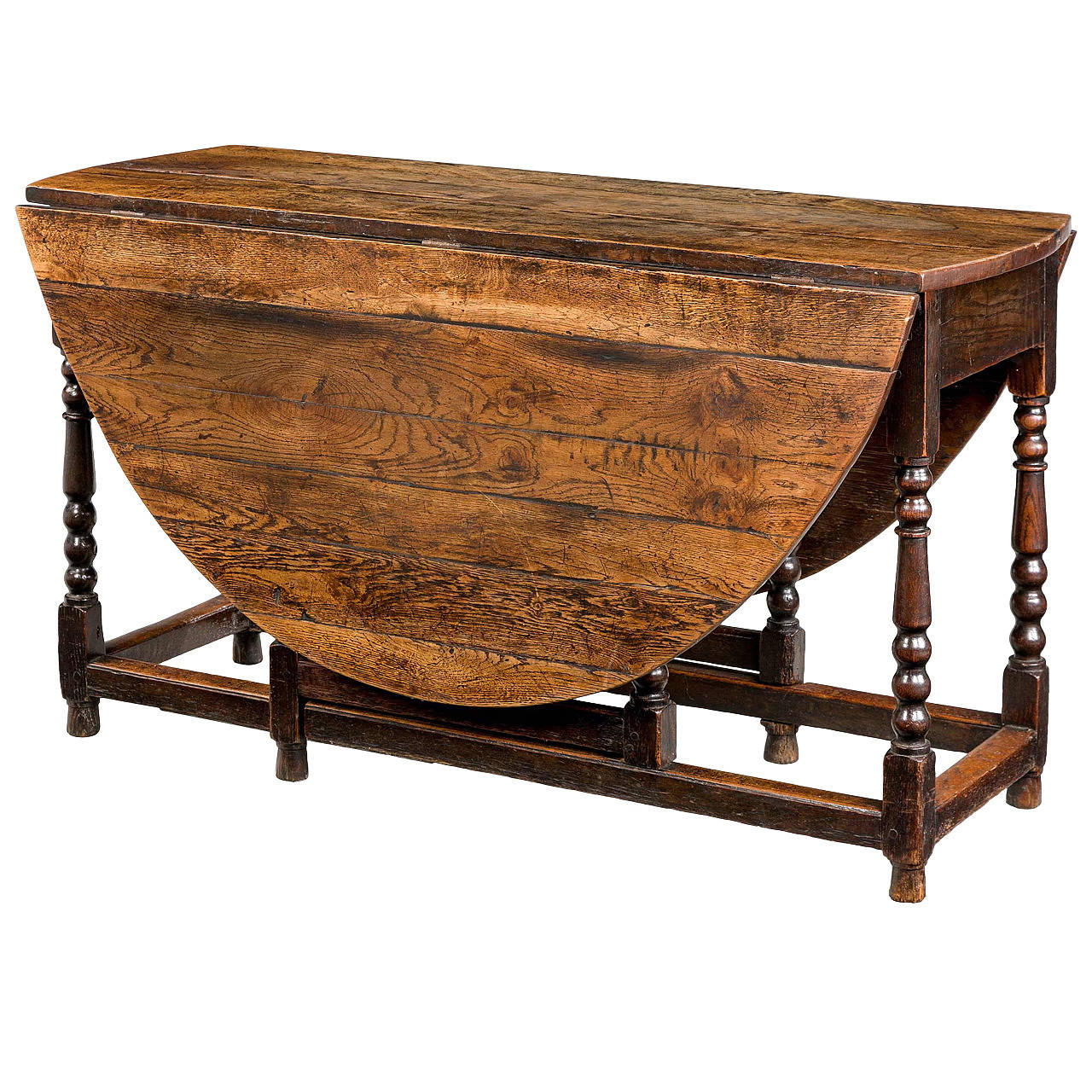 18th Century Oak Gate Leg Table