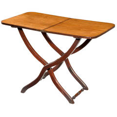 George lll Mahogany Coaching Table