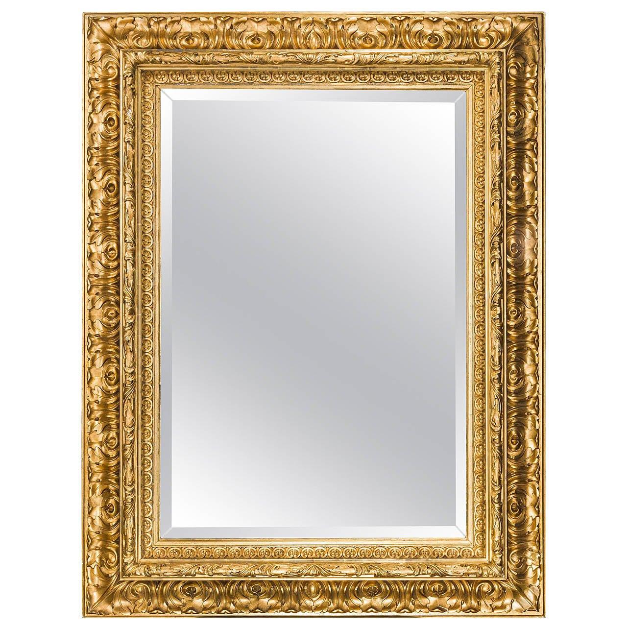 fine italian 19th century giltwood mirror for sale at 1stdibs