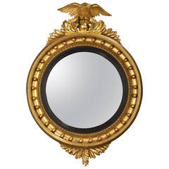 Regency Period Convex Mirror