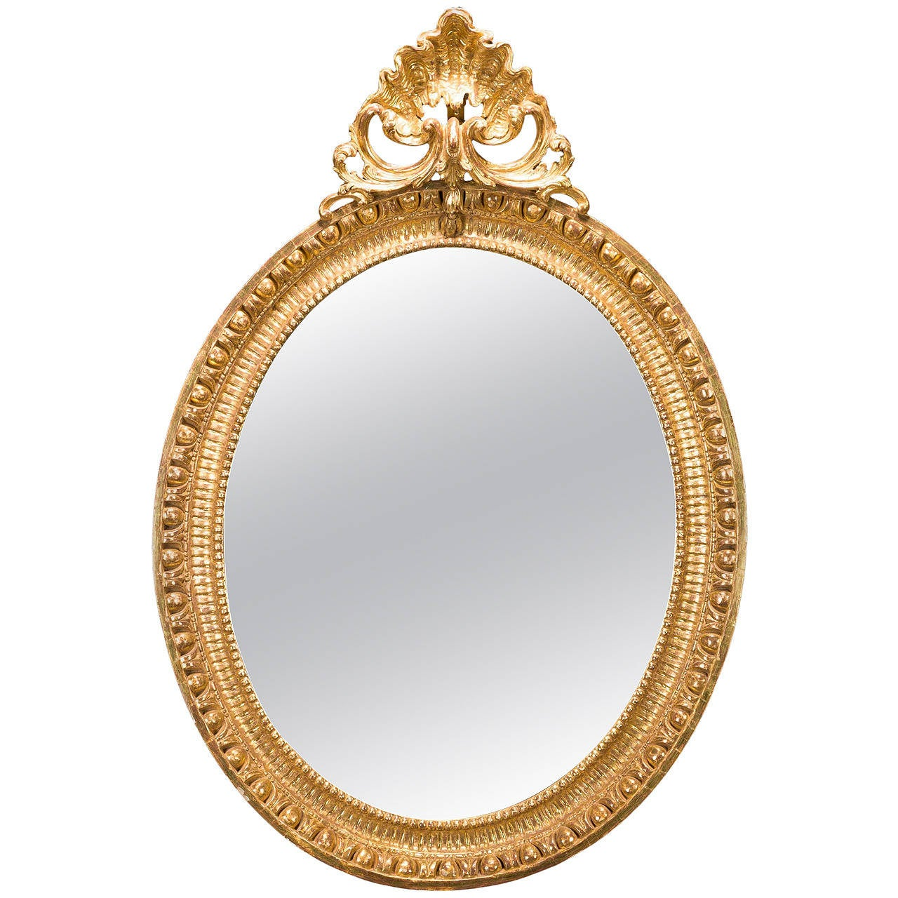 Chippendale period oval mirror for sale at 1stdibs for Mirrors for sale