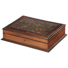 19th Century Walnut Box