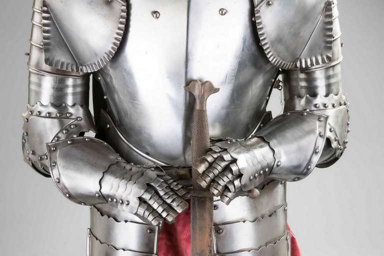 Steel Mid-20th Century Suit of Armour