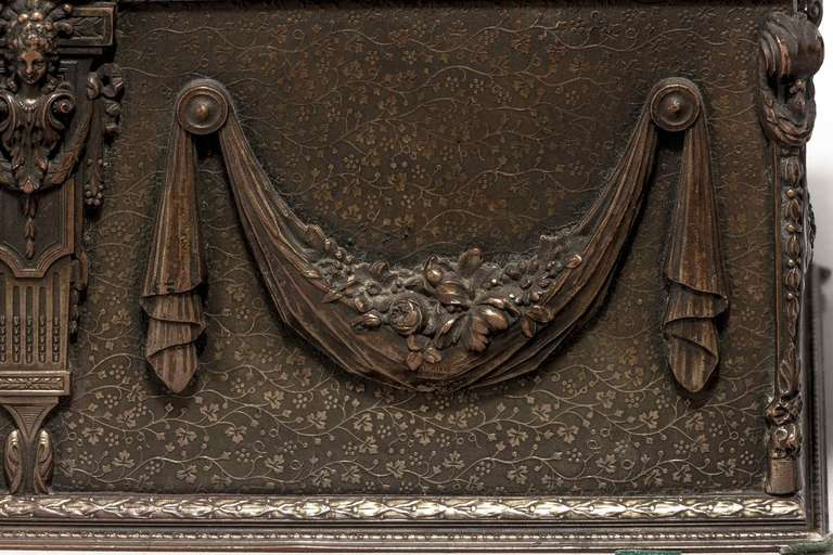 19th Century Bronze Casket For Sale 3