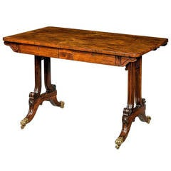 Regency Period Centre Standing Table
