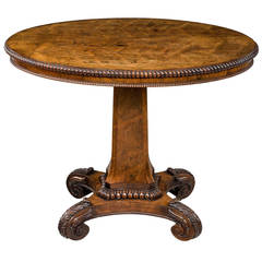 Regency Period Oval Centre Table