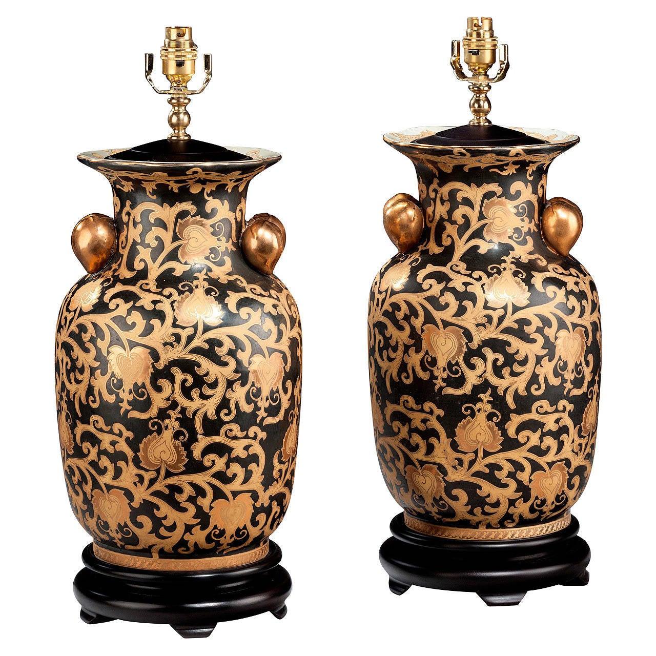 Pair of 20th century Decorative Lamps
