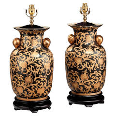 Pair of 20th century Decorative Lamps