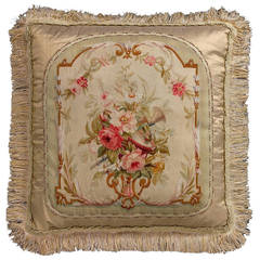 Wool Cushion, Late 18th Century