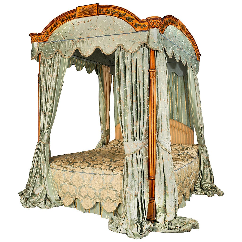 George III Period Four-Poster Bed