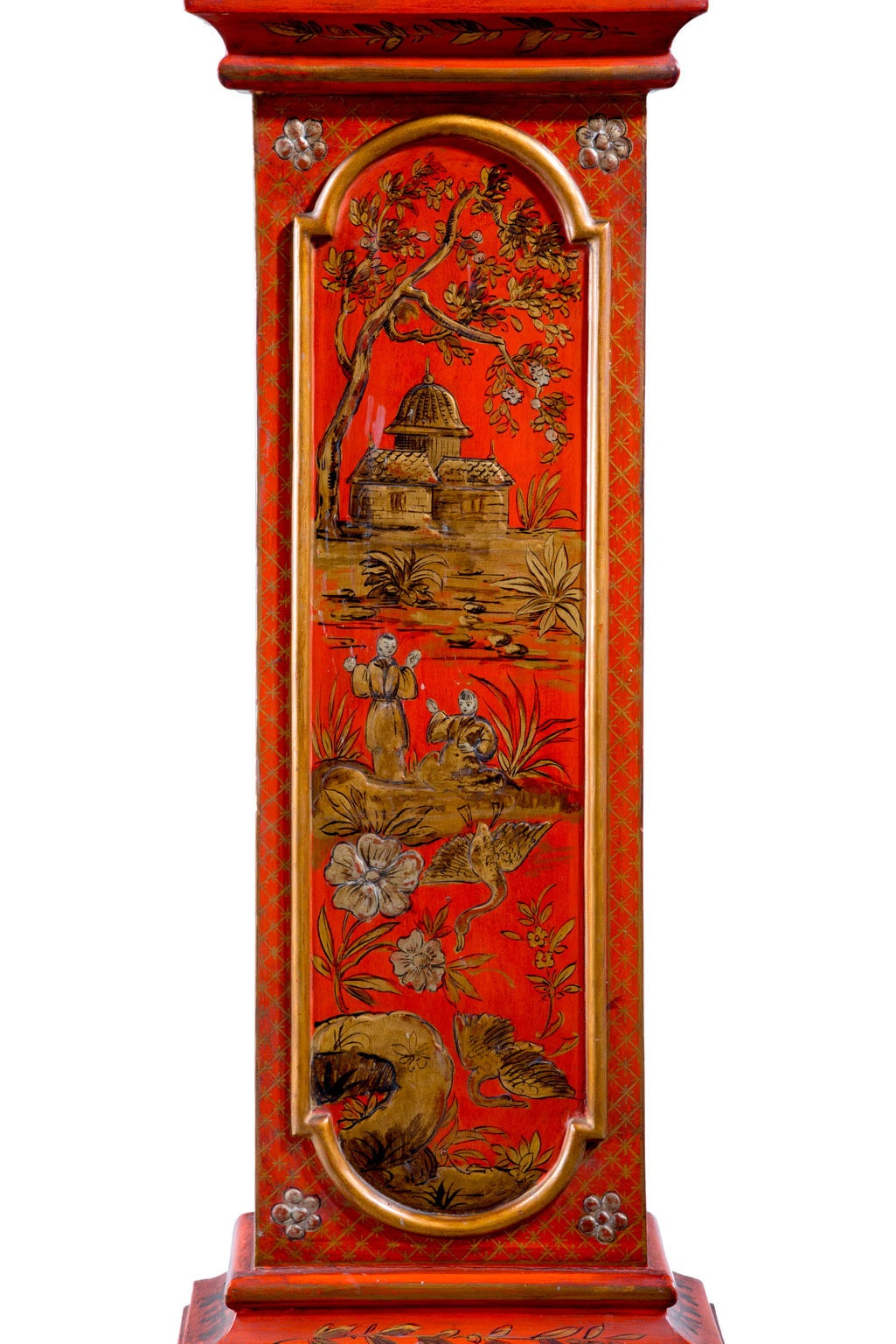 Early 20th Century Chinoiserie Granddaughter Clock 6