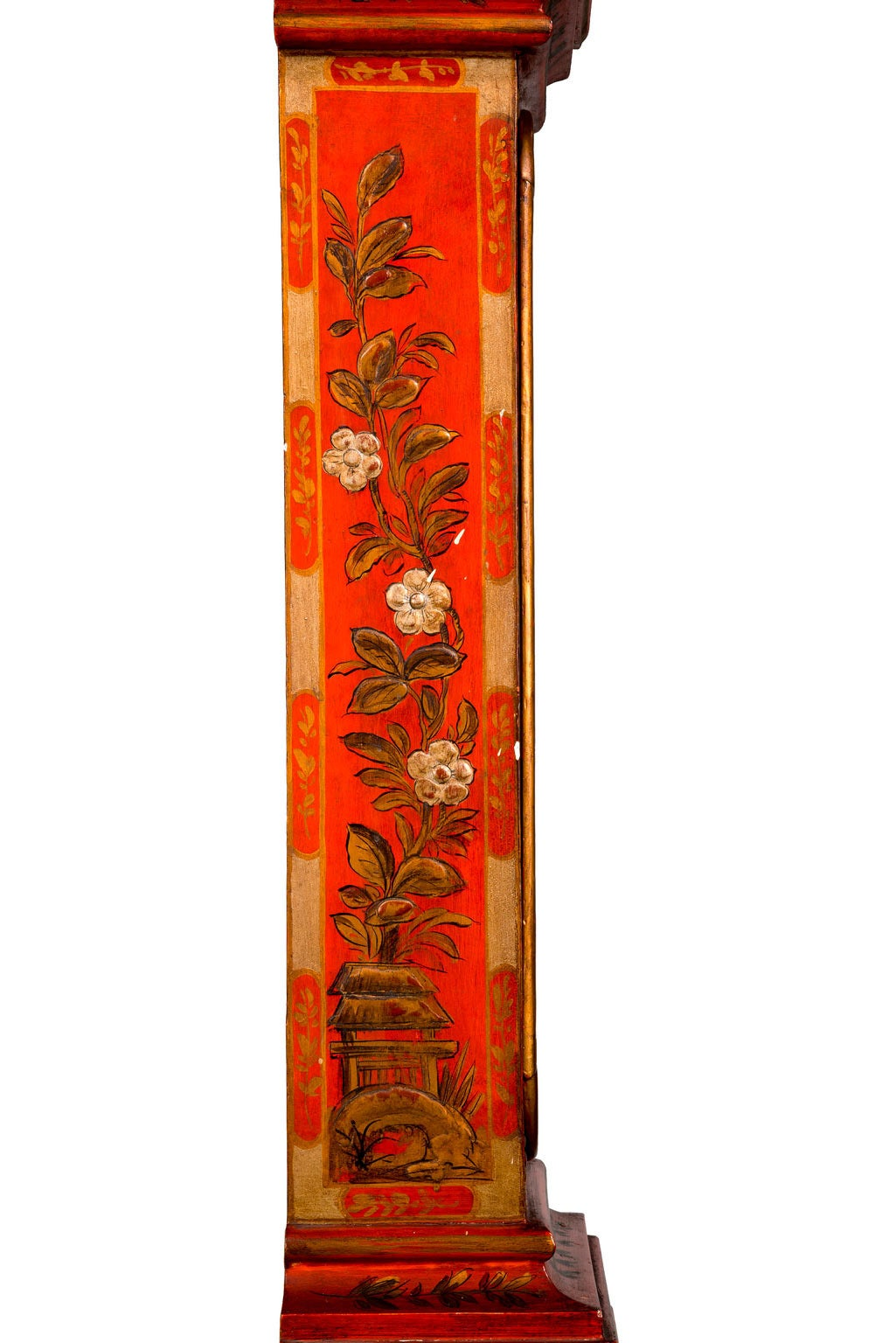 Early 20th Century Chinoiserie Granddaughter Clock 8