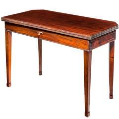 Late 19th Century Mahogany Tea Table