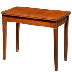 Early 19th Century Mahogany Tea Table
