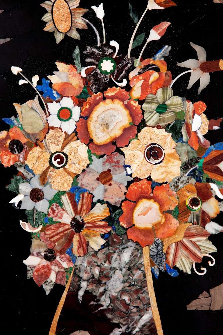 British 19th Century Pietra Dura Panel For Sale