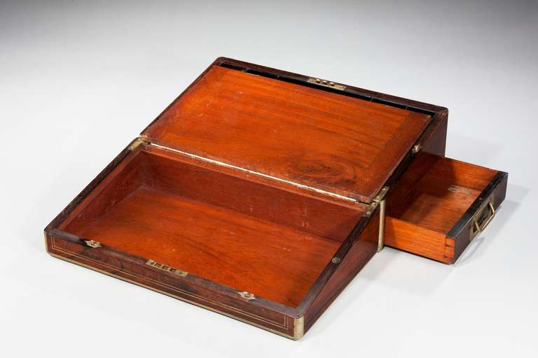 English 19th Century Period Writing Box For Sale