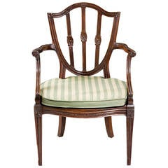 George III Period Elbow Chair