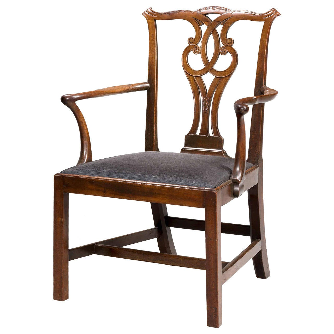 Chippendale Furniture: Chippendale Period Elbow Chair For Sale At 1stdibs