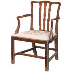 Fine George III Period Fine Elbow Chair