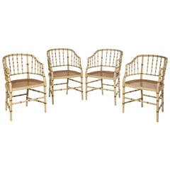 Bamboo Lounge Chairs At 1stdibs