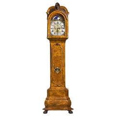 Early 18th Century Walnut Longcase Clock by J Elias of Amsterdam