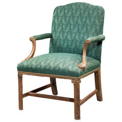 Chippendale Design Gainsborough Armchair