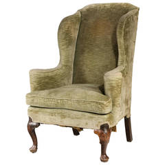 George II Period Wing Chair