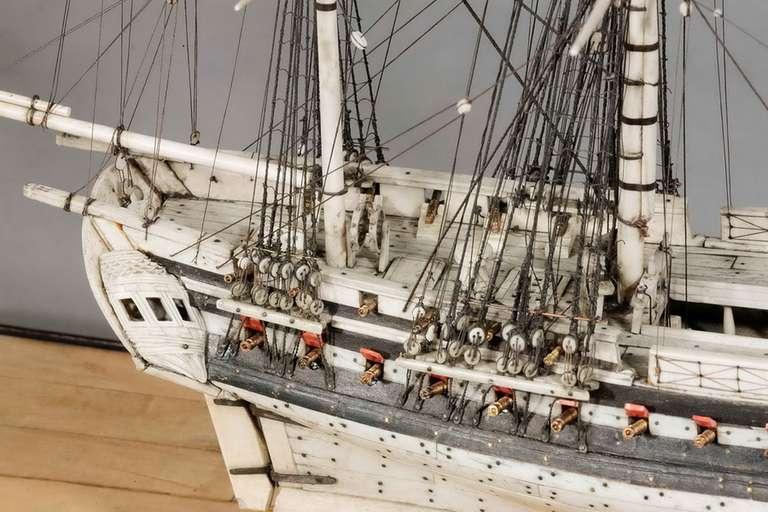 Fine 19th Century Prisoner of War Model For Sale 3
