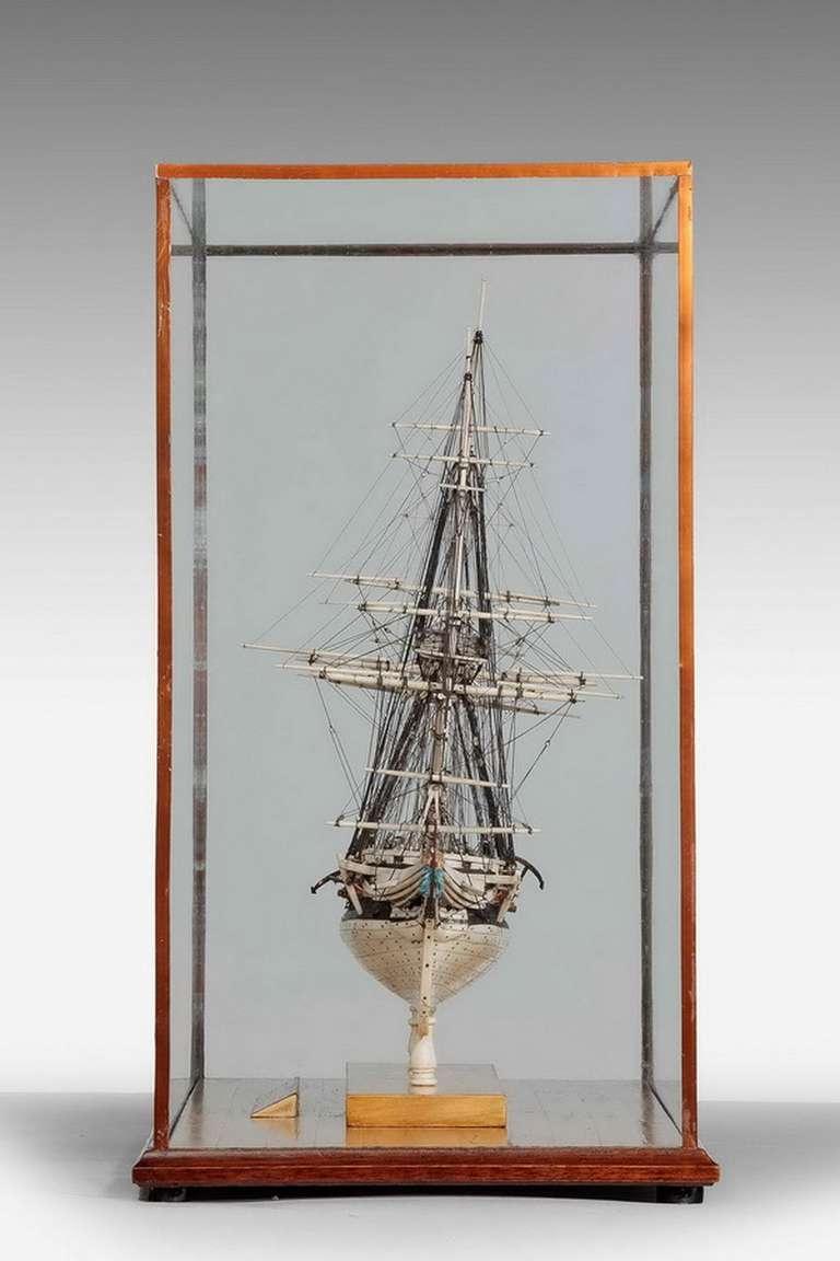 French Fine 19th Century Prisoner of War Model For Sale