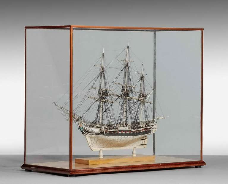 Fine 19th Century Prisoner of War Model In Good Condition For Sale In Peterborough, Northamptonshire