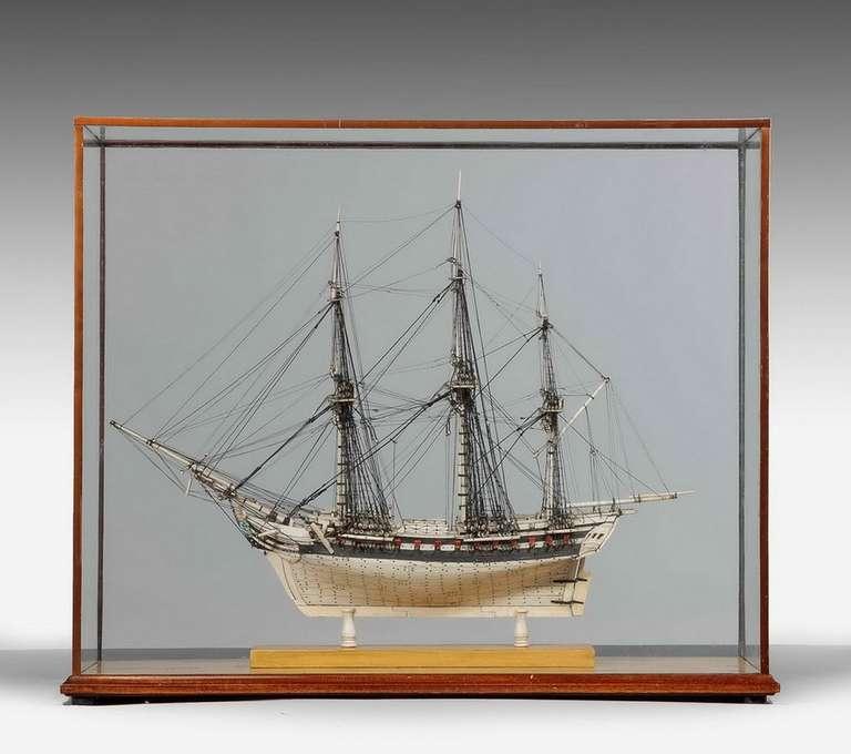 Wood Fine 19th Century Prisoner of War Model For Sale