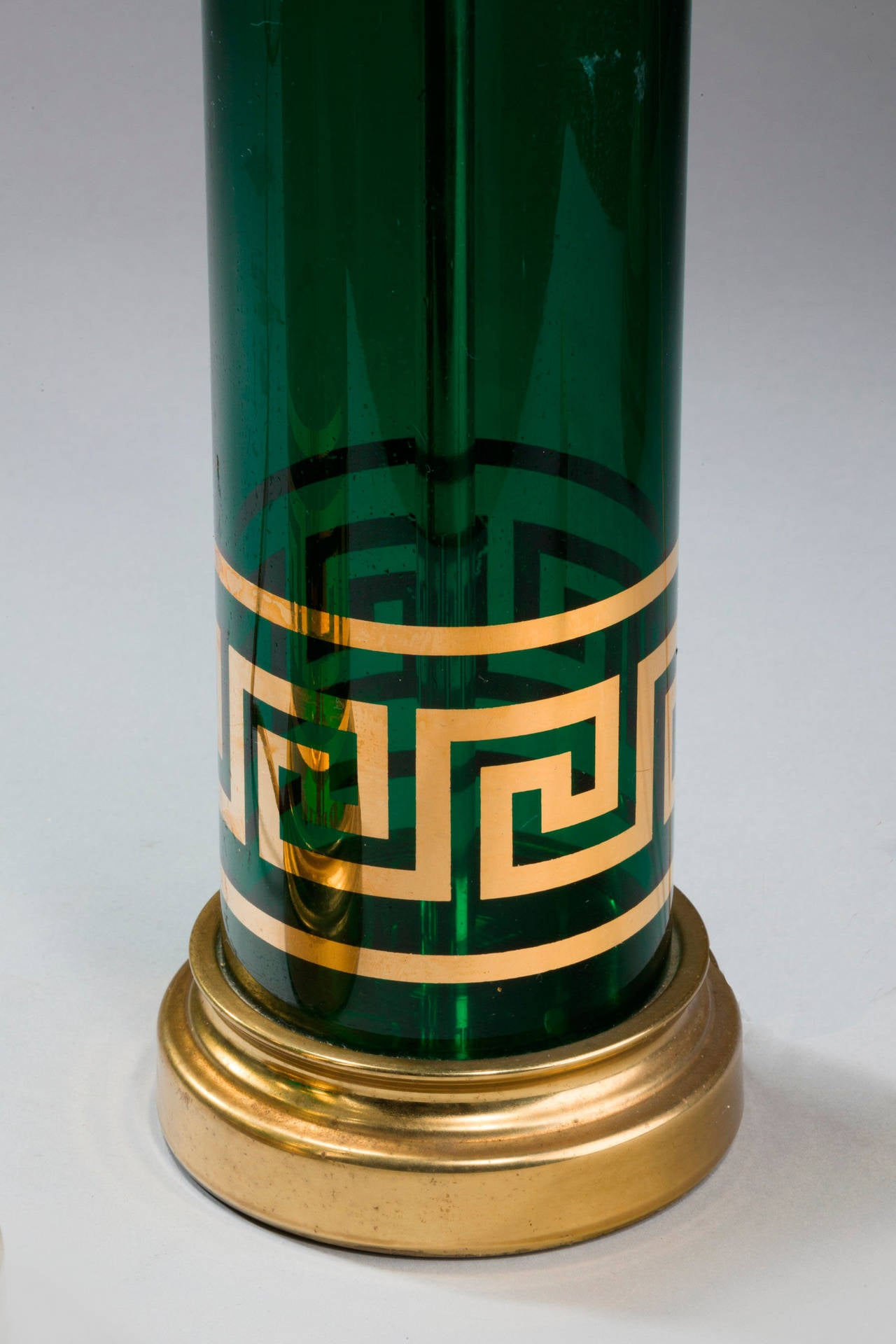 European Pair of Art Deco Lamps