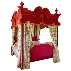 17th Century Style Four-Poster Bed
