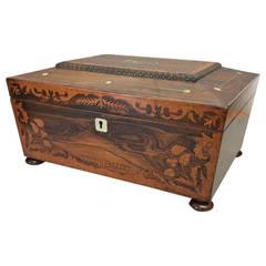 Early 19th Century Work Box
