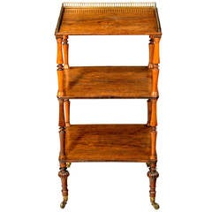 Regency Period Etagere