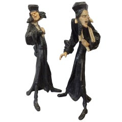 Pair of Cold Cast Lead Austrian Figures